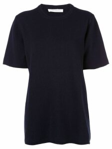 Extreme Cashmere round neck top - Blue