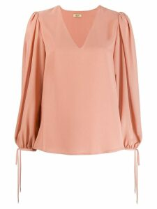 LIU JO V-neck blouse - PINK