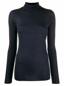 Roberto Collina roll neck T-shirt - Blue