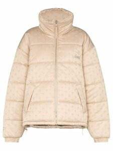 GmbH Coa oversized puffer jacket - NEUTRALS