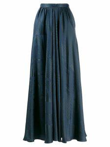 Indress high waisted skirt - Blue