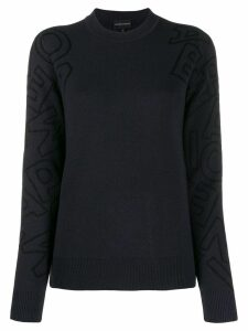 Emporio Armani knitted jumper - Blue