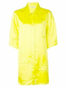 Nina Ricci short sleeve oversized shirt - Green