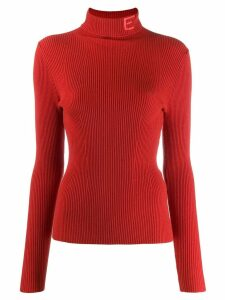 Essentiel Antwerp tristan ribbed jumper - Red