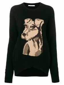 Derek Lam 10 Crosby Roscoe intarsia sweater - Black