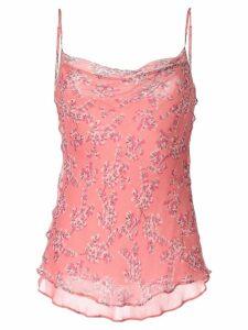 Rachel Gilbert Chiara blossom print camisole - PINK