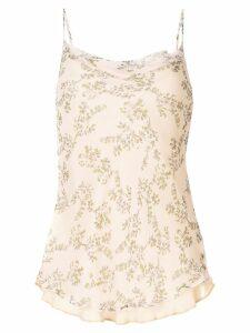 Rachel Gilbert Chiara floral cami top - ORANGE