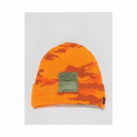 The Hundreds x Looney Tunes Label Beanie - Orange Camo (One Size Only)