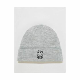 Spitfire Bighead Beanie - Heather Grey/Black (One Size Only)