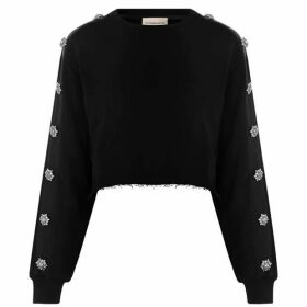 Alexandre Vauthier Embellished Sweatshirt