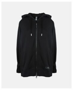 Stella McCartney Black Black Essentials Hoodie, Women's, Size S