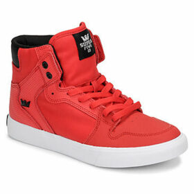 Supra  VAIDER  women's Shoes (High-top Trainers) in Red
