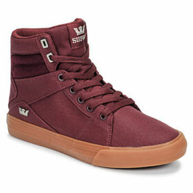 Supra  ALUMINIUM  women's Shoes (High-top Trainers) in Red