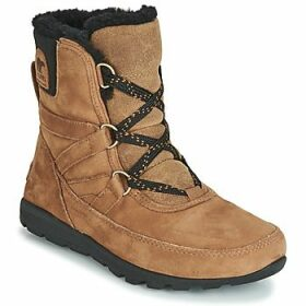 Sorel  WHITNEY SHORT LACE PREMIUM  women's Mid Boots in Brown