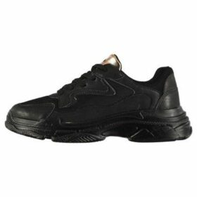 Rocket Dog  Vader PU  women's Shoes (Trainers) in Black