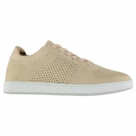 Fabric  Alba Knit Trainers Ladies  women's Shoes (Trainers) in Gold