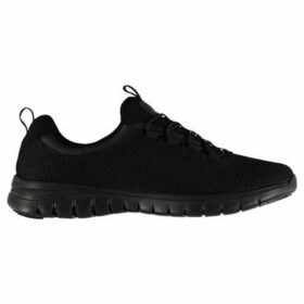 Fabric  Relap Ladies Trainers  women's Running Trainers in Black