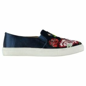 Fabric  Rozzano Ladies Slip On Shoes  women's Slip-ons (Shoes) in Blue