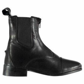Dublin  Elevation II Zip Paddock Boots Ladies  women's Mid Boots in Black