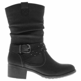 Soulcal  Torrey Ladies Boots  women's Low Ankle Boots in Black