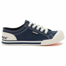 Rocket Dog  Jazzin Ladies Canvas Trainers  women's Shoes (Trainers) in Blue