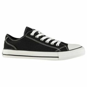 Soulcal  Canvas Low Ladies Shoes  women's Shoes (Trainers) in Black