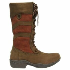 Just Togs  Ridgeway Lace Country Boots  women's High Boots in Brown