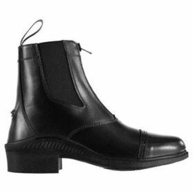 Brogini  Tivoli Zip Boots  women's Mid Boots in Black