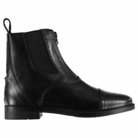Brogini  Chelmsford Zip Jodhpur Boots  women's Mid Boots in Black