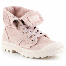 Palladium  Pallabrouse Baggy 92478-605-M  women's Shoes (High-top Trainers) in Pink