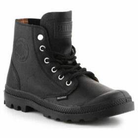 Palladium  Pampa HI 75750-001-M  women's Shoes (High-top Trainers) in Black