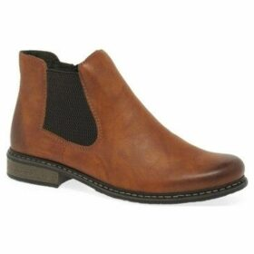 Rieker  Elton Womens Chelsea Boots  women's Mid Boots in Brown