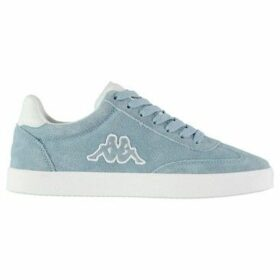 Kappa  Collin Leather Trainers Ladies  women's Shoes (Trainers) in Blue