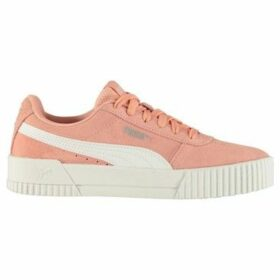 Puma  Carina Suede Ladies Trainers  women's Shoes (Trainers) in Multicolour