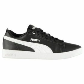 Puma  Smash Leather Trainers Ladies  women's Shoes (Trainers) in Multicolour