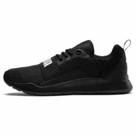Puma  Wired Ladies Trainers  women's Running Trainers in Black