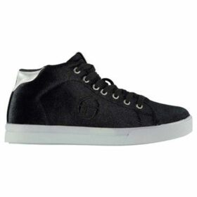 Sergio Tacchini  Ladies Velvet High Top Trainers  women's Shoes (High-top Trainers) in Black