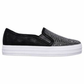 Skechers  Double Up Slip On Trainers Ladies  women's Slip-ons (Shoes) in Black