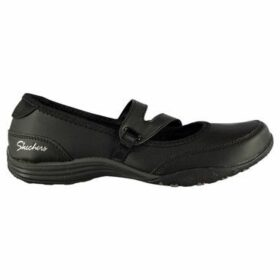 Skechers  Fitster Slip On Trainers Ladies  women's Slip-ons (Shoes) in Black