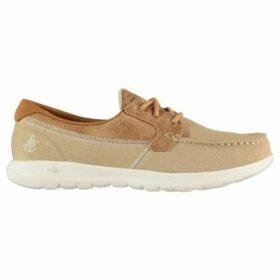 Skechers  GoWalk Coral L93  women's Boat Shoes in Beige