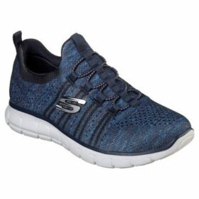 Skechers  VIM Knit Shoes Ladies  women's Running Trainers in Blue