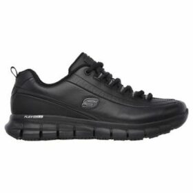 Skechers  Work Trick Trainers Ladies  women's Shoes (Trainers) in Black