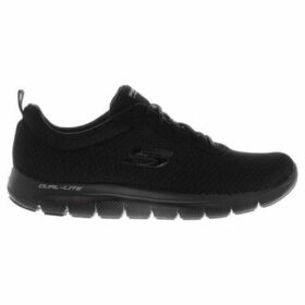 Skechers  Flex Appeal 2.0 Newsmaster Ladies Trainers  women's Running Trainers in Black