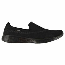 Skechers  Go Walk Core Trainers Ladies  women's Slip-ons (Shoes) in Black