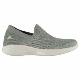 Skechers  YOU Rise Slip On Shoes Ladies  women's Slip-ons (Shoes) in Grey
