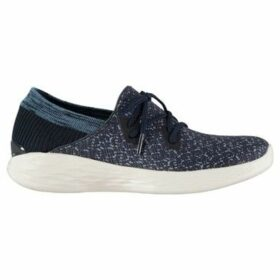 Skechers  YOU Exhale Ladies Trainers  women's Slip-ons (Shoes) in Blue