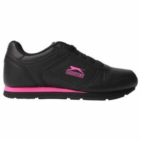Slazenger  Classic Ladies Trainers  women's Shoes (Trainers) in Black