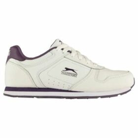 Slazenger  Classic Ladies Trainers  women's Shoes (Trainers) in White