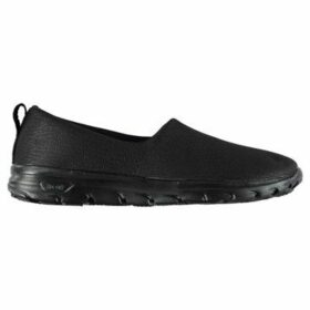 Usa Pro  Iolite Slip On Ladies Shoes  women's Slip-ons (Shoes) in Black