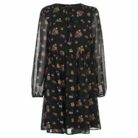 Full Circle  Chiffon Dress Ladies  women's Dress in Black